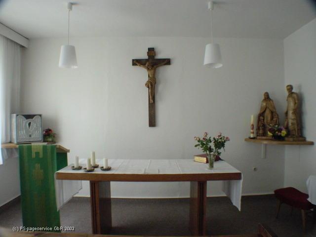 Gottesdienstraum in Lenzen
