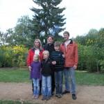 Noch einmal ein Foto für das Familienalbum.